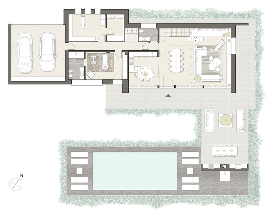 Interessante piante di case moderne lt65 pineglen for Piante case moderne